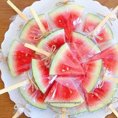 Image may contain: fruit, food and outdoor Watermelon Birthday Parties, Fruit Birthday, 2nd Birthday Party Themes, Fruit Party, Snacks Für Party, Luau Party, Birthday Party Treats, One In A Melon, Flamingo Party