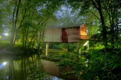 Covered Bridge by heatond1