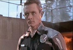 "Terminator 2 "" JUDGEMENT DAY ( 1991 ) introduced some WILD Visual Effects. One was the villain ( Robert Patrick ) made of liquid metal, the Newest creation from Cyberdyne Systems THE T-1000."