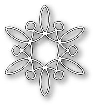 """Twinkling Snowflake - $7.49 The Twinkling Snowflake by Memory Box is a beautiful snowflake - layer it or use it alone! Size 2.2"""" x 2.5"""""""