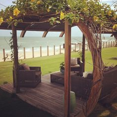Lovely... #devant #paixãopeloqueebelo #charme #deliciadeviver #Brasil #Ceará — em Carmel Charme Resort.