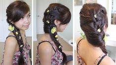 Fancy Fishtail Braid Hairstyle for Medium Long Hair Tutorial