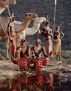 Before They Pass Away: tribute article Large Format Photo: Africa: Samburu, Kenya VVV by Jimmy Nelson We Are The World, People Around The World, Around The Worlds, Cultures Du Monde, World Cultures, African Tribes, African Art, Jimmy Nelson, Tribute