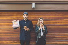This couple showed mad love for In-N-Out in their engagement photo | Gina & Ryan Photography