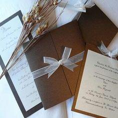 DIY invitaciones para boda hechas en casa