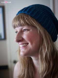 Meet the Shanti Hat! Isn't it cute? It's a free pattern just for our  Charity Hat-Along and it's a great basic crochet hat pattern. Add stripes,  try a pompom, pick your favorite colors! The more the merrier, right? We  are in our second month of the Charity Hat-Along and it's going really  wel