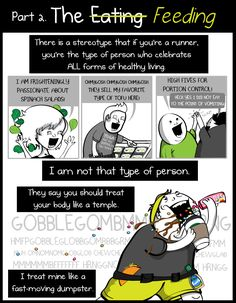 The terrible and wonderful reasons why I run long distances - Part 2 - The Oatmeal | Worth a read--funny and so, so true.