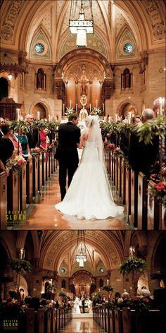 Holy Ghost Church Wedding Denver Colorado   www.kristenphotography.com