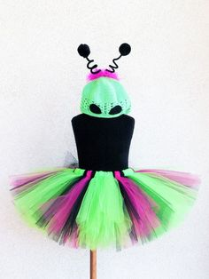 Alien Princess  Custom Sewn Alien Tutu Costume  by TiarasTutus, $48.00 - So cute, next year.