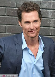 Matthew McConaughey could definitely be Peter Walsh.... middle-aged, quirky but still hot, and out of Demi/Clarissa's league.