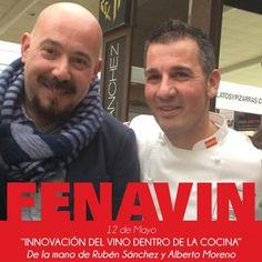 """En 1 hora comienza """"La innovación del vino dentro del mundo de la cocina"""" @Rubenchef71 @fenavin_oficial Te esperamos!"""