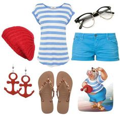How To Dress Like Peter Pan Characters, Polyvore Outfits | Gurl.