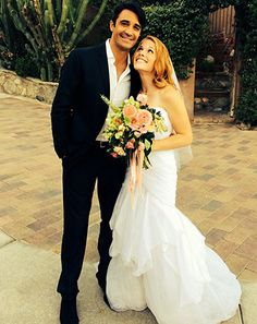 Switched at Birth's Katie Leclerc Marries Brian Stuart Habecost: Pic - Us Weekly