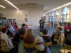 Josep Pedrals recita poesia i tastem vi del celler Clos Figueras de la DOQ Priorat