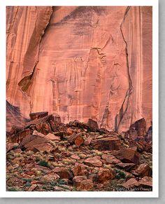 Canyon Wall, Silver Falls Canyon, Utah