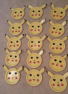 15 - Pokemon Pikachu Birthday Decorations #Handmade #BirthdayChild