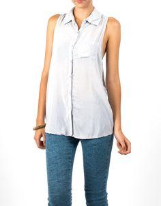 #Camisa sin mangas Double Agent por 19€ en www.doubleagent.es #summer #fashion #shirt