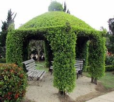 Σπίτι και κήπος διακόσμηση: Πράσινα κιόσκια για γαλήνη σε όμορφους κήπους