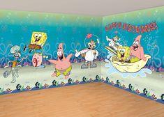 RoomMates RMKSCS SpongeBob Squarepants Peel Stick Wall - Spongebob wall decals