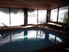 Piscina con vistas, en Hotel Santa Cristina, Canfranc