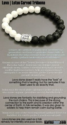 #Tridacna is one of the most important #spiritual stones for #Buddhist, it is said to protect you from evil spirits. ♛ #BEADED #Yoga #BRACELETS #Mens #Good #Luck #womens #Jewelry #Fertility #Eckhart #Tolle #CrystalsEnergy #gifts #Chakra #Healing #Kundalin