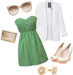 Summer formal!, created by christiana-elizabeth on Polyvore