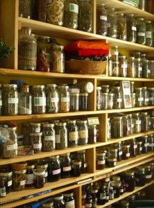 medicinal herbs and integrative medicine - I want my medicine cabinet to look like this!