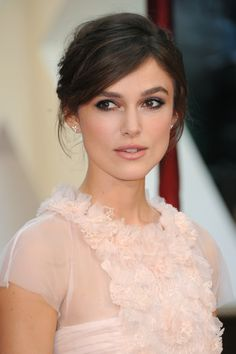 Keira Knightley - love the makeup!