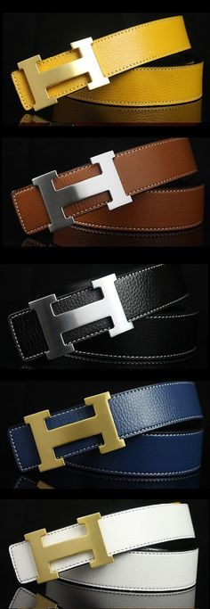 New classics...i bought black and brown with steel buckle...