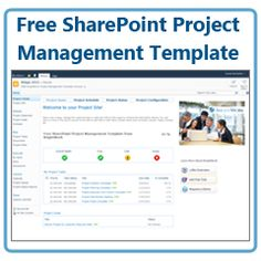 free sharepoint project management template
