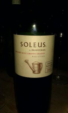 I've tried Soleus from different vintages. Like it, and it comes cheap.