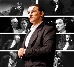 The Phantom | The Phantom of the Opera | Stage Production | Hugh Panaro | GIF (s)
