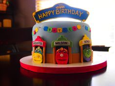 Chuggington Birthday Cake by Olive Parties