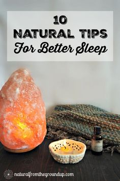 Before you reach for a pill to help you sleep, try these natural tips. Learn how to work with your body, instead of against it, and sleep will come naturally.