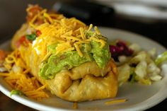 Oven-Fried Chicken Chimichangas #Recipe