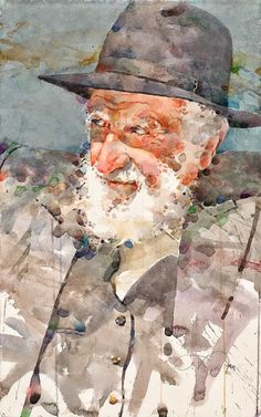 Ted Nutall Biography A graduate of Colorado Institute of Art, Ted is a figurative watercolorist whose painting . Watercolor Portrait Painting, Watercolor Face, Watercolor Artists, Portrait Art, Painting & Drawing, Art And Illustration, Figurative Kunst, Guache, Art Abstrait