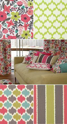 rifle paper + villa nova fabrics
