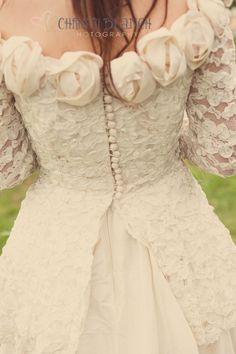 Dress, A Styled Vintage Shabby Chic Wedding Yurt Shoot