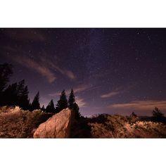 Last night at Mount Pinos. Frazier Park, Plane, Northern Lights, Hiking, Sky, Celestial, Stars, Night, Instagram Posts
