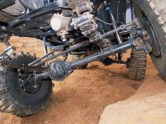 Custom Crossover Steering System Is Beefed With Agr Rock Ram And