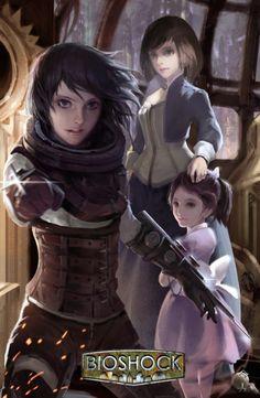 bioshock hentai little sister Bioshock 2, Bioshock Artwork, Bioshock Series, Bioshock Infinite Elizabeth, Yandere, Gundam Art, Cartoon Crossovers, Little Sisters, Character Concept
