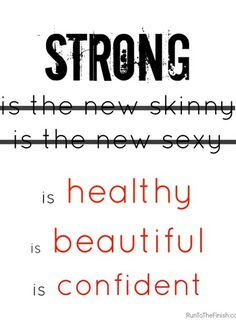 Repinned: Embracing strong for what it is and not because it's part of a new ideal