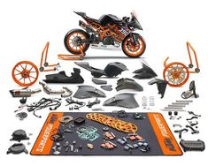 New For 2018: KTM Introduces RC 390 R - Track focused R version backed-up with READY TO RACE Supersport 300 competition kit KTM has further sharpened its street supersport RC 390 with the introduction of the new KTM RC 390 R – a homologated, limited edition machine ready for Supersport 300 competition when combined with the optional a... - http://superbike-news.co.uk/wordpress/new-2018-ktm-introduces-rc-390-r/