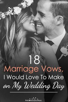 18 Marriage Vows, I Would Love To Make on My Wedding Day - of July Wedding Ideas - Wedding Personal Wedding Vows, Writing Wedding Vows, Writing Vows, Best Wedding Vows, Wedding Vows To Husband, Wedding Tips, Wedding Planning, Dream Wedding, Wedding Day