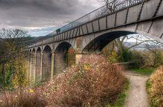 UNESCO World Heritage Site #169: Pontcysyllte Aqueduct and Canal, Wales