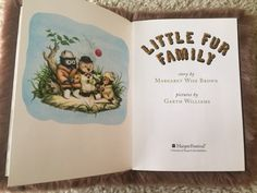 Overlooked books by classic authors: little fur family by Margaret wise brown