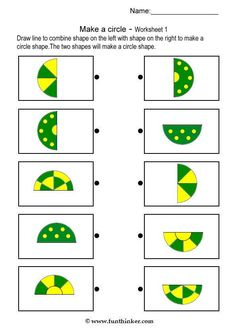 make a circle shape