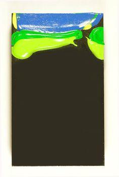 Cliff Eyland Li'l Monoliths, 5x3 inch painting.