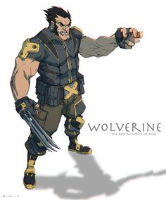 Wolverine by Colorbind (Johan Wahlbäck) Marvel Wolverine, Wolverine Character, Wolverine Cosplay, Logan Wolverine, Marvel Art, Marvel Heroes, Thor Cosplay, Marvel Avengers, Comic Kunst