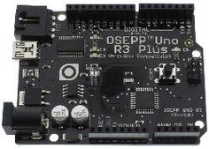 OSEPP UNO R3 Plus Arduino Compatible Board - Osepp Part #: UNO-03 ---- HEY HEY!!!  For more COOL ARDUINO stuff, check out http://arduinohq.com